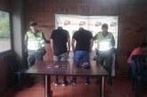 Cuatro hombres fueron capturados tras intentar robar en vivienda del sur de Cali