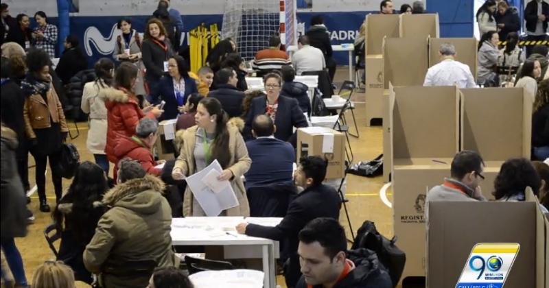 Colombianos residentes en España también votaron en las pasadas elecciones