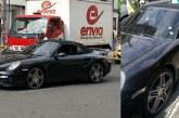 Conductor de un Porsche resultó herido tras atentado sicarial en el norte de Cali
