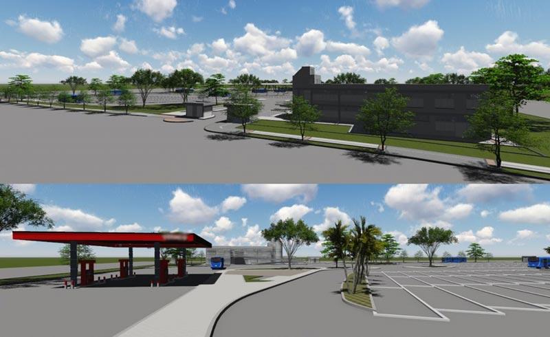 Metrocali comenzó construcción de patio-taller del Mío en Aguablanca, oriente de Cali