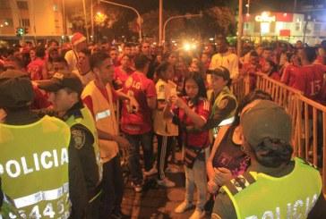 Más de 800 policías garantizarán la seguridad en el partido América – Santa Fe