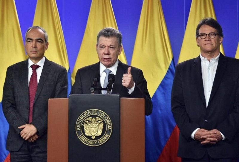 """""""Retomaremos las conversaciones de paz con el ELN"""": anunció Juan Manuel Santos"""