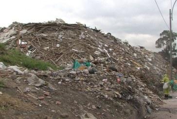Escombrera de la 50 sigue presentando problemas para la evacuación de escombros