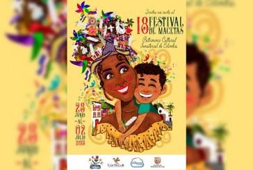 Así será el afiche del décimo octavo Festival de Macetas que se celebrará en Cali