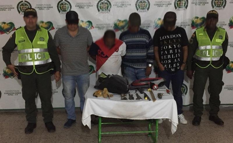 Intento fallido: ladrones cavaron hueco en una pared para robar banco de Jamundí