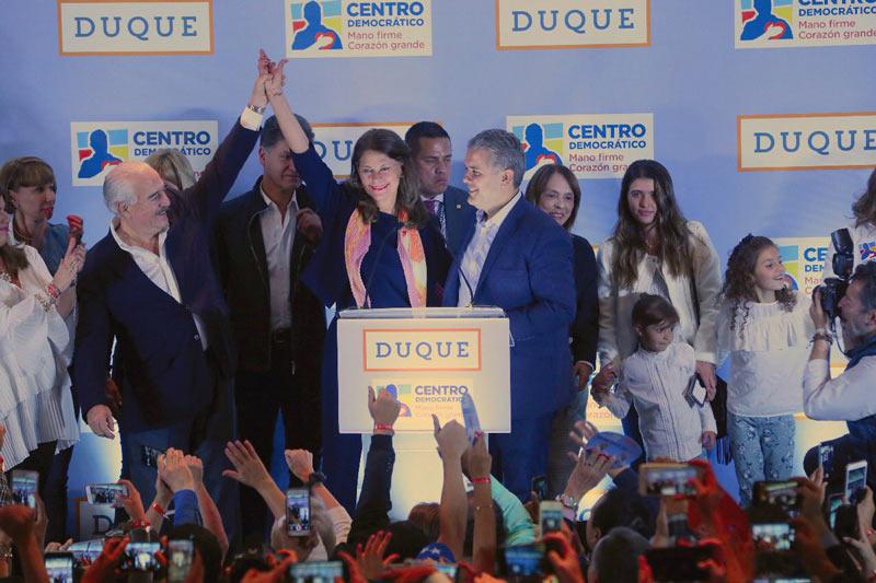 Iván Duque gana la Gran Consulta por Colombia con más de 4 millones de votos