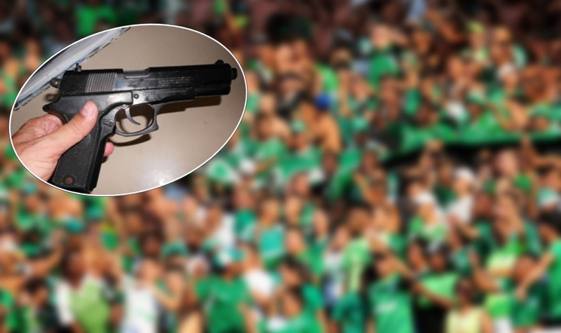 Enfrentamiento entre barras del Deportivo Cali dejó un joven herido por un disparo