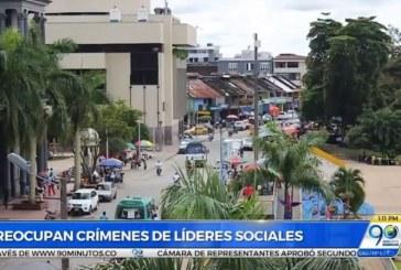 Líderes sociales de Chocó hacen llamado al Gobierno Nacional por muerte de colegas