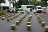 Hallan marihuana en bus abandonado en vías del Valle avaluada en 2 mil millones