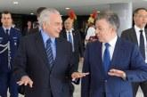 Presidentes de Colombia y Brasil ofrecen ayuda a migrantes venezolanos