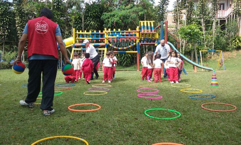 Indervalle incentiva deporte en niños por medio de programa de psicomotricidad