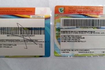 Cartel de la estampilla: denuncian seis casos de fraude en Gobernación del Valle