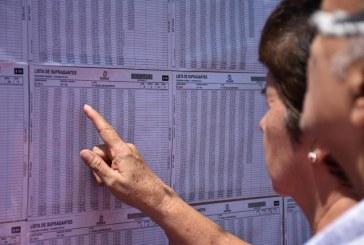 Firma y huella serán obligatorios para elecciones regionales de octubre