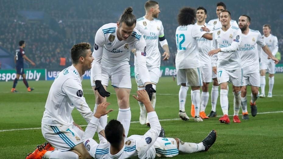 Real Madrid sacó su casta ante PSG por Champions League y avanzó a cuartos