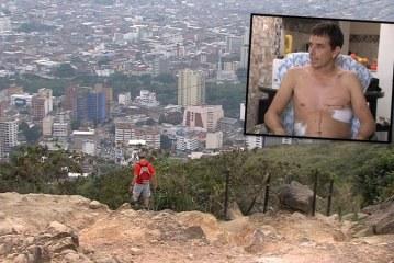 Tras haberlo robado, atleta dice que hombres quisieron matarlo, recibió 8 puñaladas