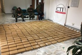 En casa de Buenaventura incautan 308 kilos de cocaína con destino internacional