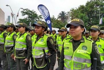 Con 800 hombres, Policía prepara fecha de amor y amistad para los caleños