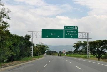 Recta Cali – Palmira ocupa el cuarto lugar en el país con mayor número de accidentes