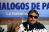 Jesús Santrich debió ser trasladado de urgencia a una clínica de Bogotá