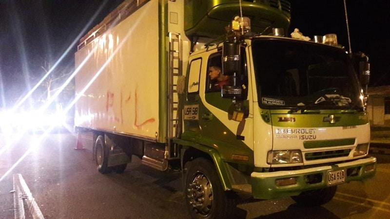 Denuncian asalto múltiple a varios vehículos de servicio público en vía Popayán-Cali