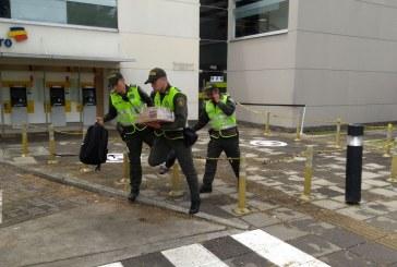Inició judicialización de hombre que intentó hurtar una sede de Bancolombia