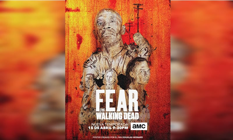 Colombiano gana concurso de 'Fear the Walking Dead'