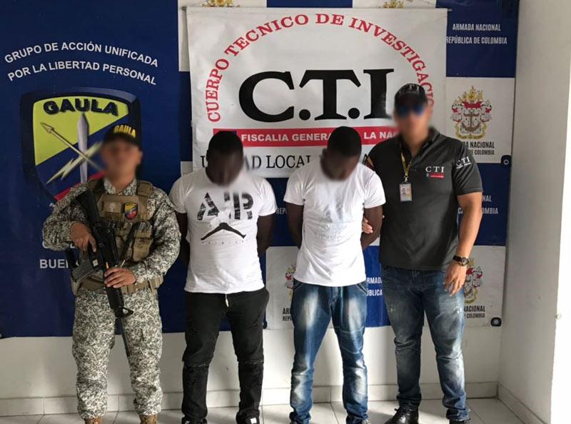 Cárcel a sujetos que exigían $118 millones por liberación de hombre en Buenaventura