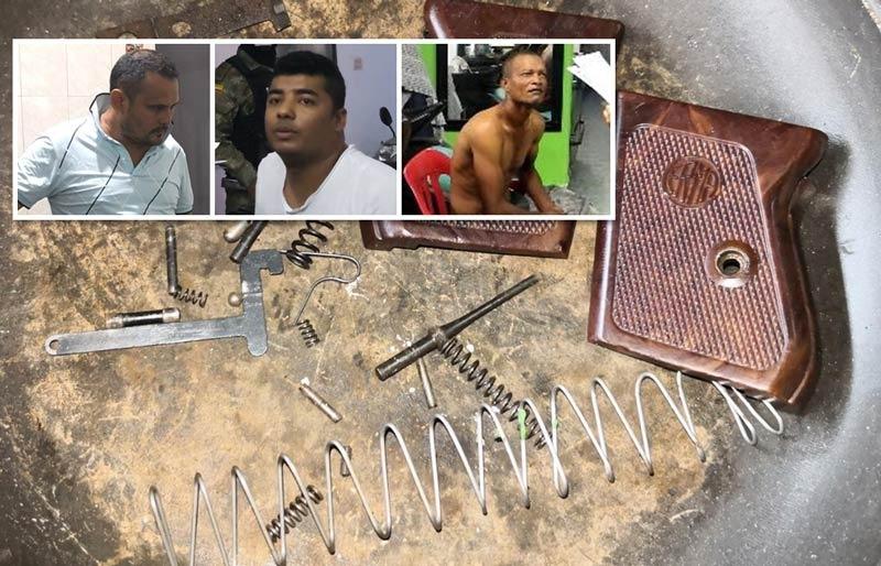 Cárcel a los Army II, banda dedicada a la venta de armas a grupos de sicarios en Cali