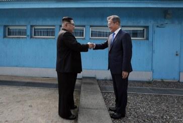 Las dos Coreas pactaron buscar desnuclearización y paz en histórica cumbre