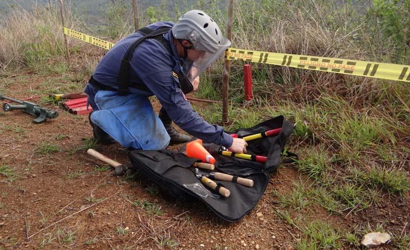 Víctimas por minas antipersonales se triplican en Colombia durante el 2018