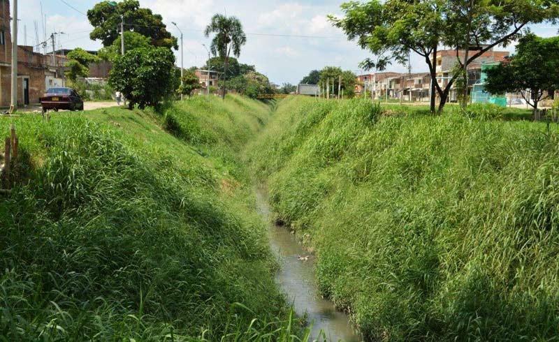 Con entamboramiento del canal Cauquita en Cali buscan mitigar enfermedades