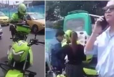 Excandidato al congreso denunciará a patrullera a la que maltrató en video viral