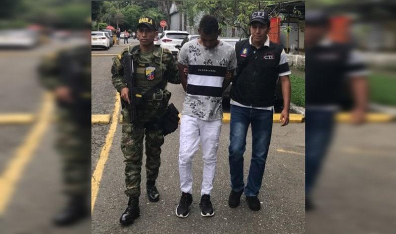 Gaula captura en flagrancia a pareja de extorsionistas en Cali, Valle