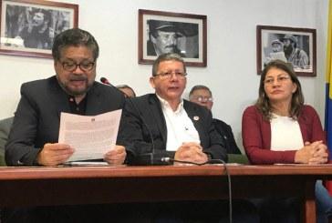 Las Farc solicitaron reunirse con el Presidente Santos, tras captura de Santrich
