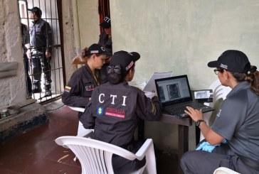 CTI y Fiscalía inspeccionaron cárceles de Vijes y Ginebra por caso de red 'Los Tutelantes'