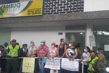 Gobernación reitera a la Supersalud suspensión de EPS Barrios Unidos en Valle