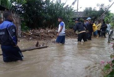 Corregimiento Guabas, en Guacarí, sufrió fuertes inundaciones por creciente de río