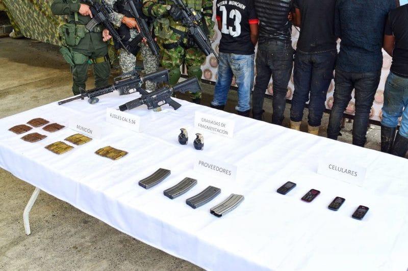 Grupo Hércules del ejército debilitó anillo armado de alias Guacho en Tumaco
