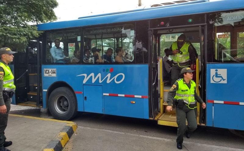 Por actos de vandalismo, Metrocali anuncia la suspensión temporal de la Ruta A12B