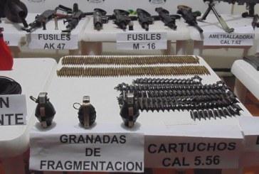 Policía Nacional incauta armamento que transportaba camioneta en El Mango, Cauca