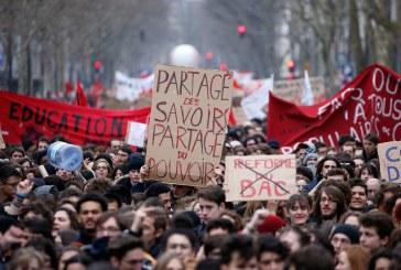 'Martes negro' en Francia por protestas de los sindicatos ferroviarios