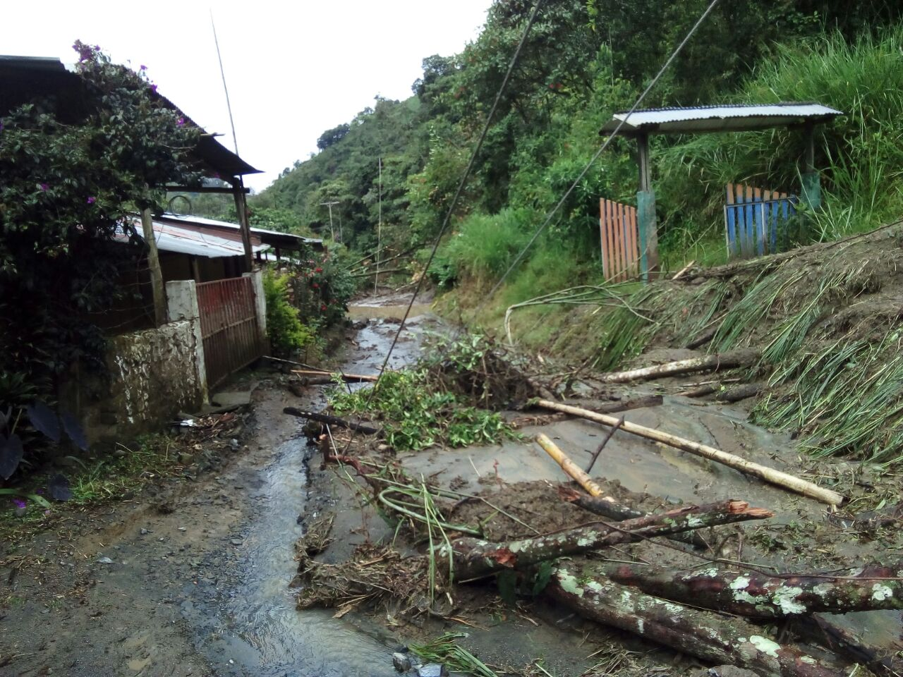 20 municipios del Valle, afectados por las fuertes lluvias