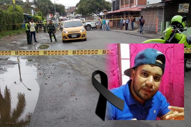 Investigan asesinato de taxista en el barrio Villa del Lago de Cali