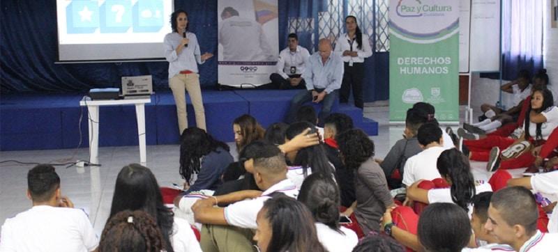 Alcaldía promueve campaña en colegios de Cali contra la trata de personas