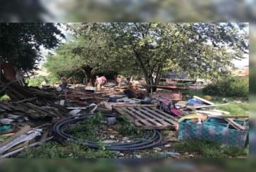 Autoridades intervinieron cinturón ecológico de Aguablanca por ocupación ilegal