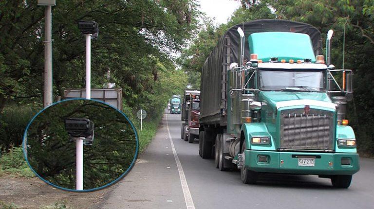 ¡Atentos! cámaras de fotomulta de antigua vía Cali - Yumbo se volverán a activar