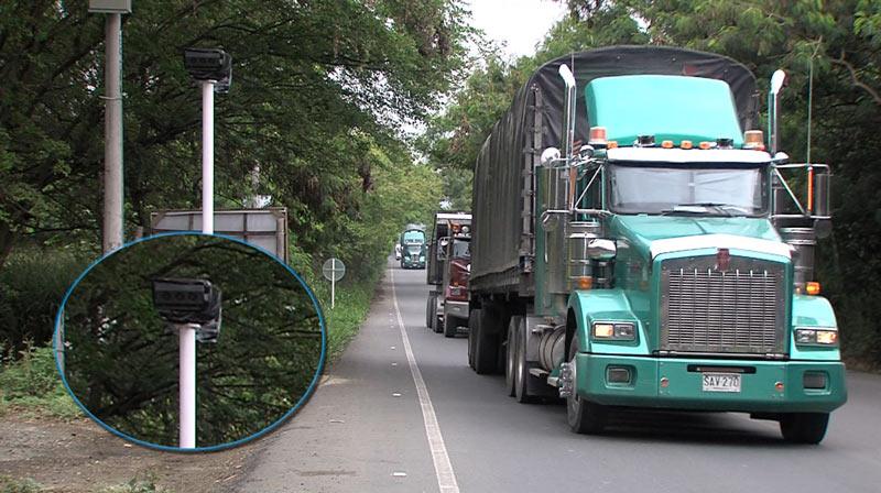 ¡Atentos! cámaras de fotomulta de antigua vía Cali – Yumbo se volverán a activar