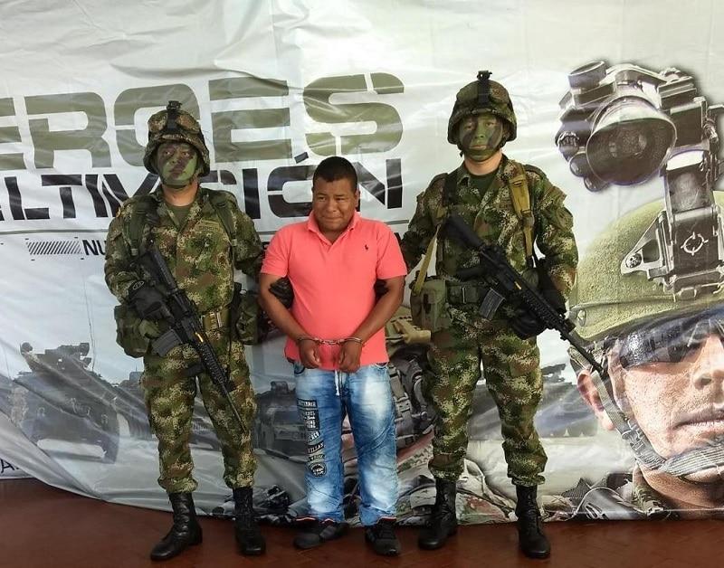 Cárcel para 'Mordisco', disidente de las Farc acusado de asesinar a tres policías