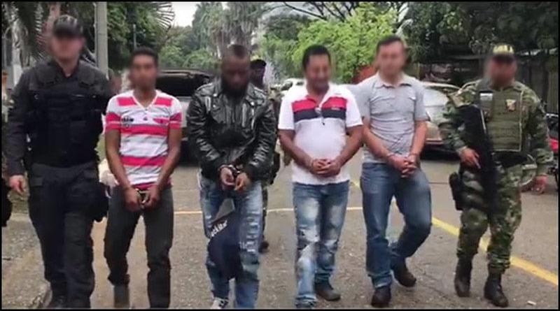 Cayó banda 'Los Peloloco' acusados de desplazamiento forzado en Dagua, Valle