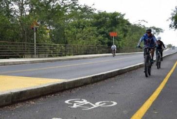 Ya está habilitada el bicicarril en la vía Pance para el ascenso a esta zona turística